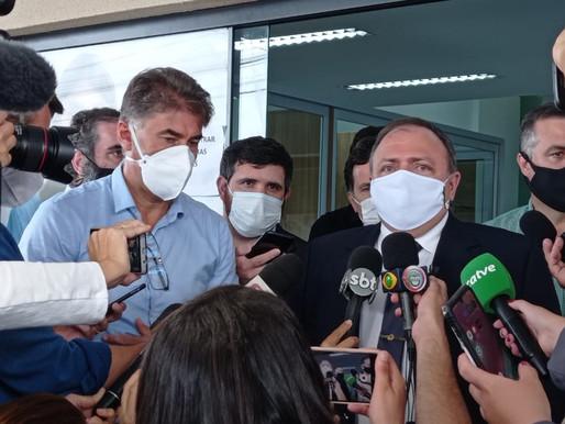 Ministro Pazuello visita UPA Brasília em Cascavel