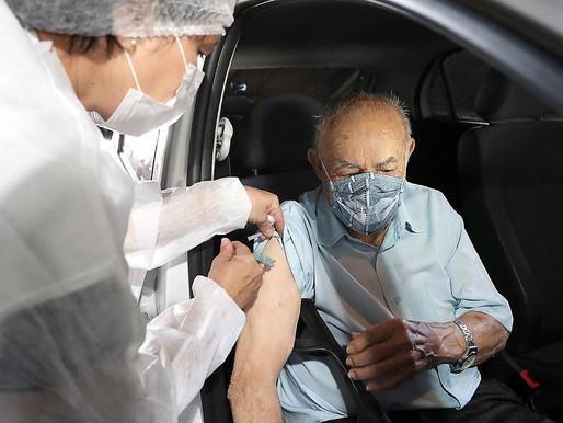 Em Cascavel, 13.293 pessoas foram vacinadas contra a covid-19