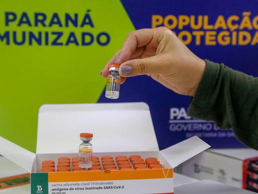 Governo divulga dados da distribuição da vacina contra a Covid-19