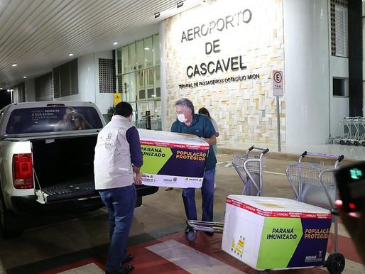 Com mais 9 mil doses, Cascavel avança a vacinação contra a covid-19