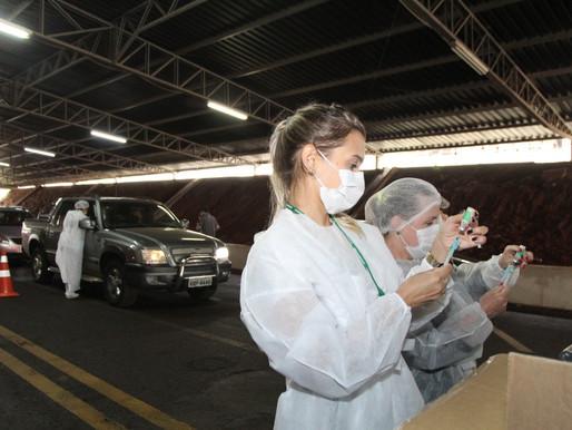 Cascavel supera índice nacional em vacinação contra a Covid-19