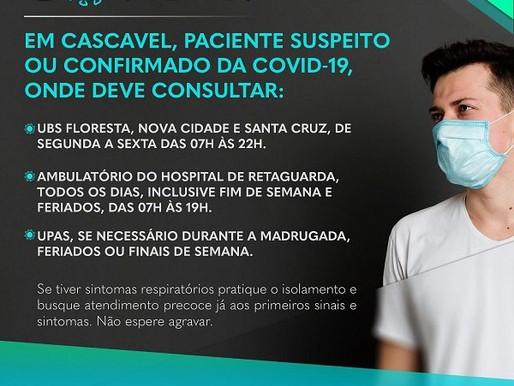 Saúde voltará a ter unidades exclusivas para atendimento Covid-19