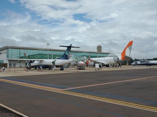 Aeroporto de Cascavel: A partir de hoje Azul retoma voos diretos para Curitiba