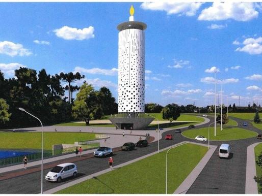 Mirante da Vida: Cascavel projeta monumento em homenagem às vítimas da Covid-19
