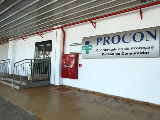 Atendimento presencial no Procon é das 8h30 às 12h