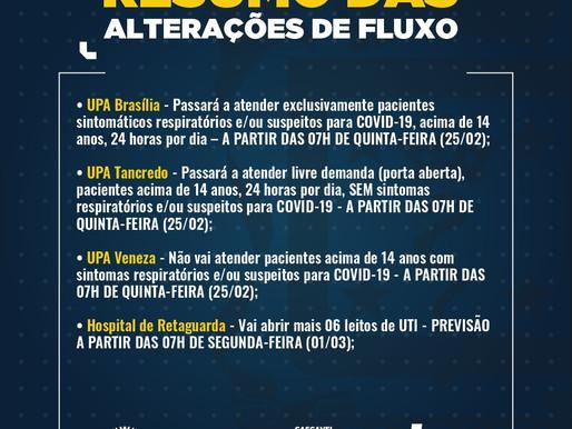 UPA Brasília atenderá apenas casos suspeitos de Covid-19 a partir desta quinta-feira