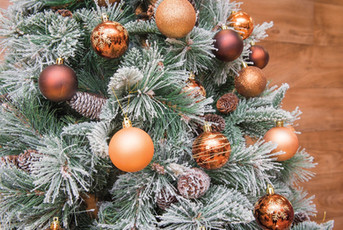 Boules et Guirlande Noël