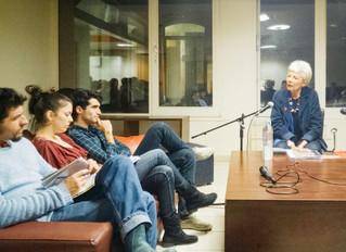 le 5 mars 2014, Geneviève JACQUES à l'AEPP
