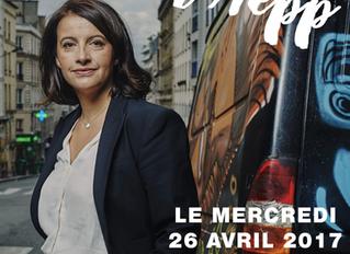 le 26 avril 2017 Cécile DUFLOT était  à l'AEPP