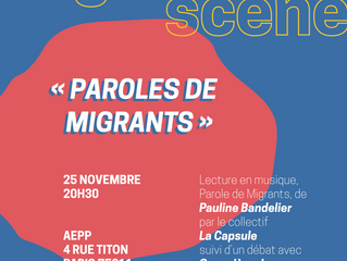 """""""Paroles de migrants"""""""