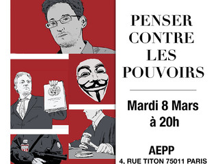 Le 8 mars 2016,  Geoffroy de LAGASNERIE était  à l'AEPP.
