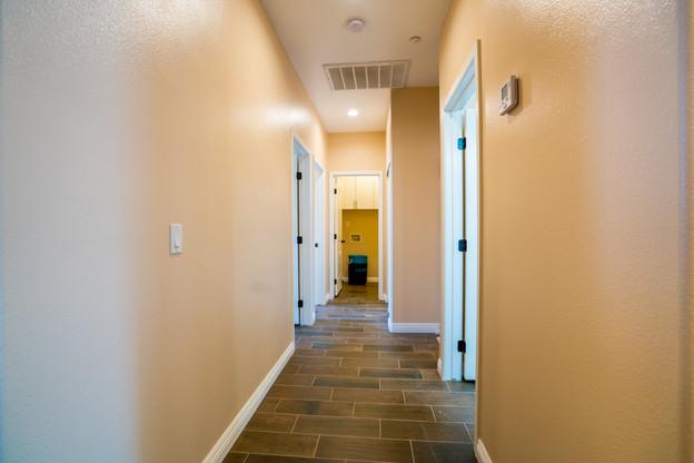 Plan A Hallway to bedrooms