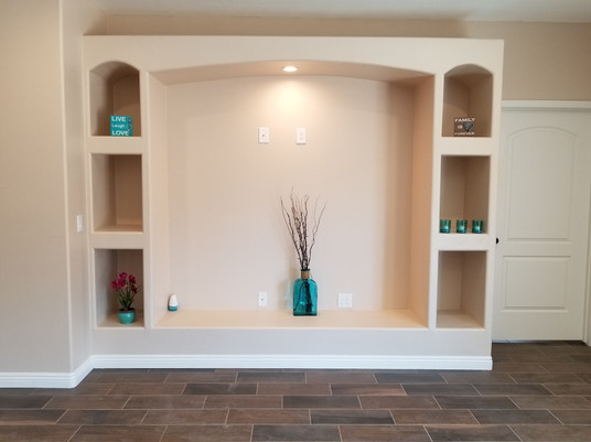 Plan A Curio in Living Room