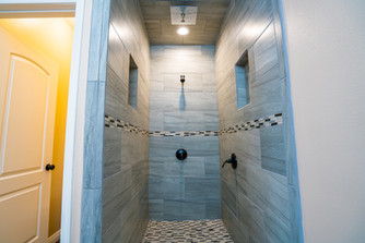 Plan A Master Walk-in Shower