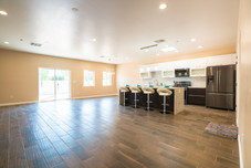 Plan A Kitchen and Dining Area