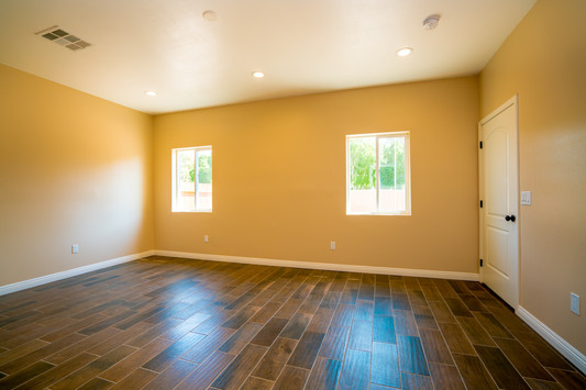 Plan A Master Bedroom view 2