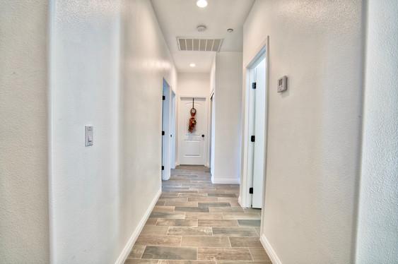 Plan A2 Bedroom Hallway view 1