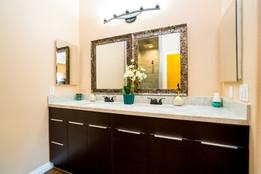 Plan A Master Bathroom view 1