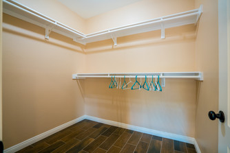 Plan A Master Walk-in Closet