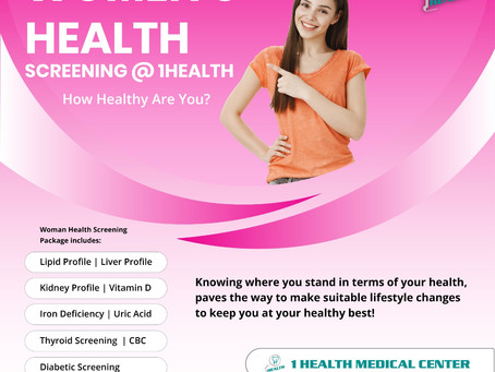 Women's Health Screening At 1Health Medical Center
