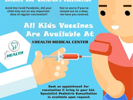 Immunization at 1Health