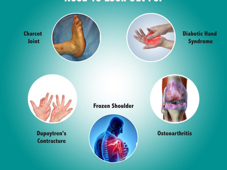 5 Bone and Joint Disorders That Diabetics Need To Look Out For
