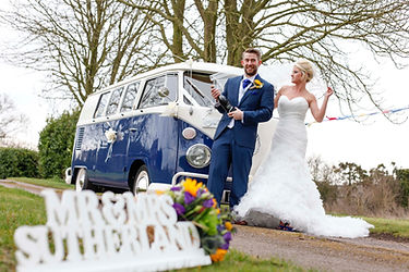 Volkswagen wedding suffolk