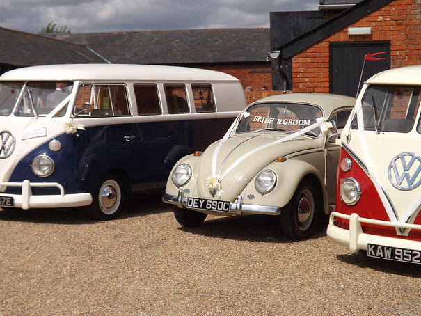 VW wedding hire suffolk essex norfolk