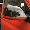 VW T6 GLOSS BLACK MIRRORS WITH CHOICE OF COLOUR ACCENT