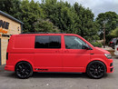 VW T6.1 KOMBI REAR LOAD AREA TINTS (SIDE DOORS AND REAR GLASS)