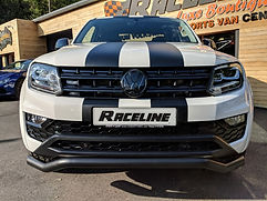 VOLKSWAGEN AMAROK SATIN BLACK FRONT SPORTS BARS (VW)