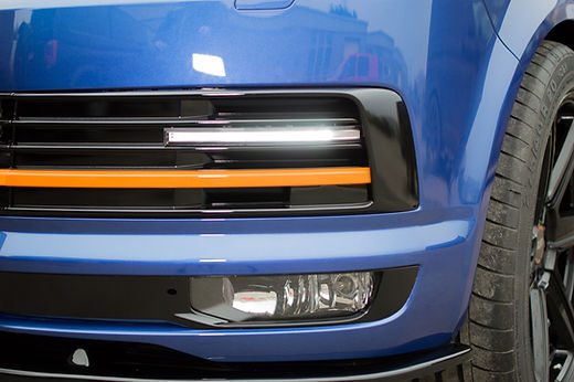 VW T6 DRL LIGHTS IN LOWER FRONT GRILL