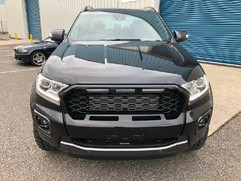 FORD RANGER GLOSS BLACK GRILL OPEN MOUTHED