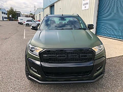 FORD RANGER GLOSS BLACK GRILL WITH LOGO - RAPTOR
