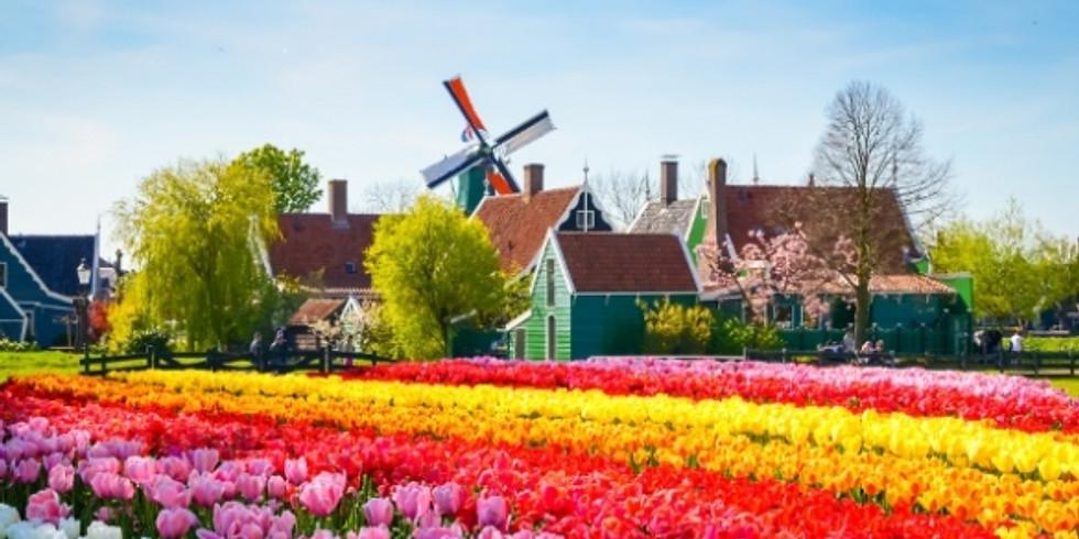 Щецин-Амстердам + Национальный парк цветов Кекенхоф в Голландии