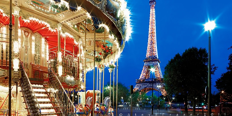 Щецин - Париж (Новый год)