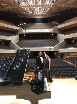 Camille Lemonnier & Fabian Langguth, Bridgewater Hall Manchester