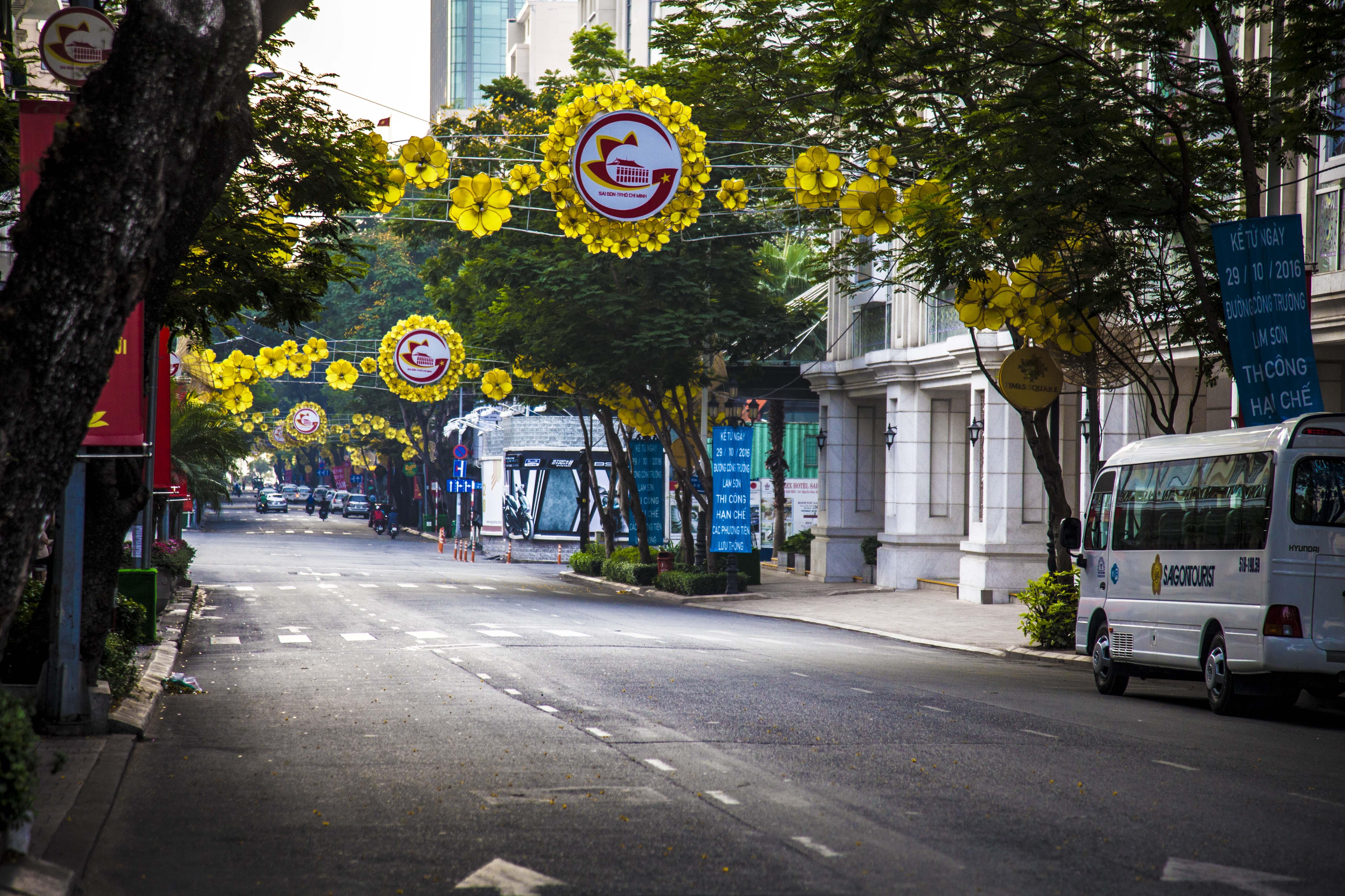 Nguyen Hue Street Saigon