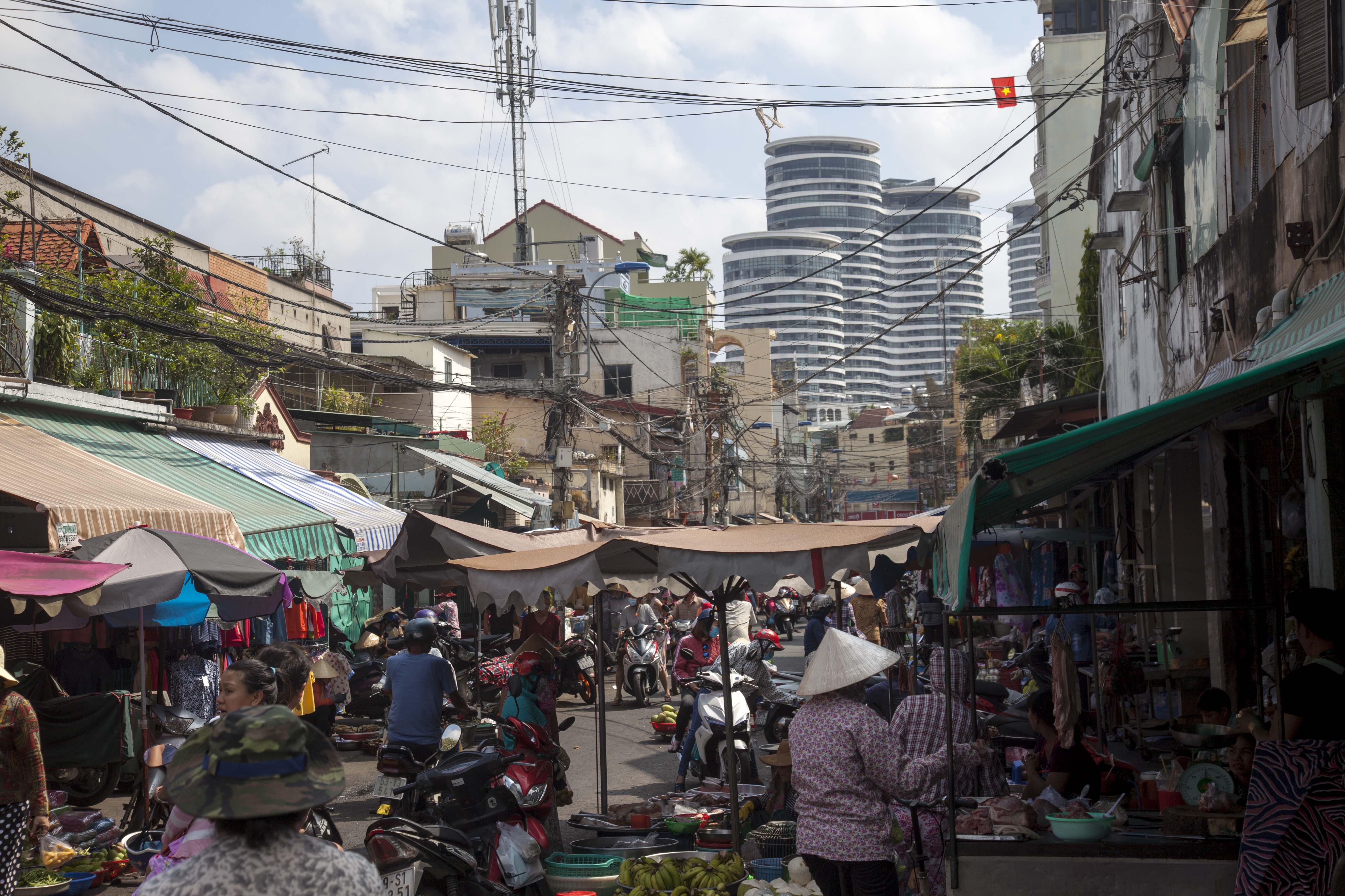 chợ ngã ba Thị Nghè