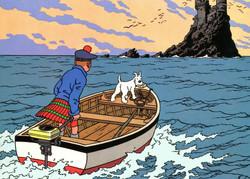 Tintin - L'île Noire