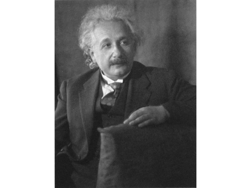 Einstein par Doris Ulmann