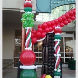 CHRISTMAS BALLOON DECOR