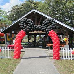 Mickey Balloon Arch