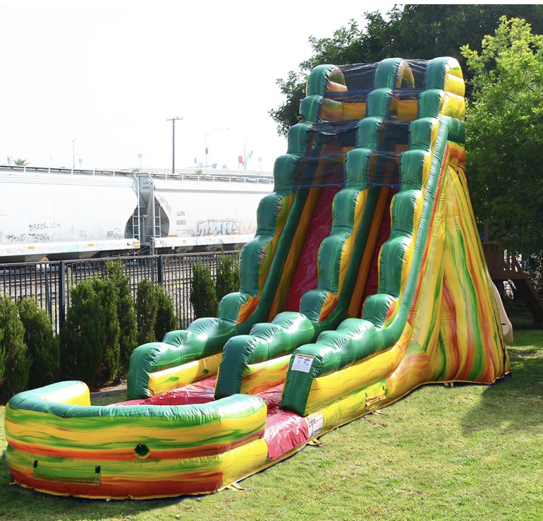 FIESTA 20' WET OR DRY SLIDE