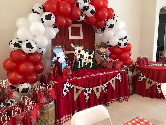 Cow Boy/Farm Themed Decoration