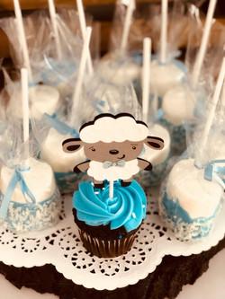 Sheep Baby Shower Dessert Station