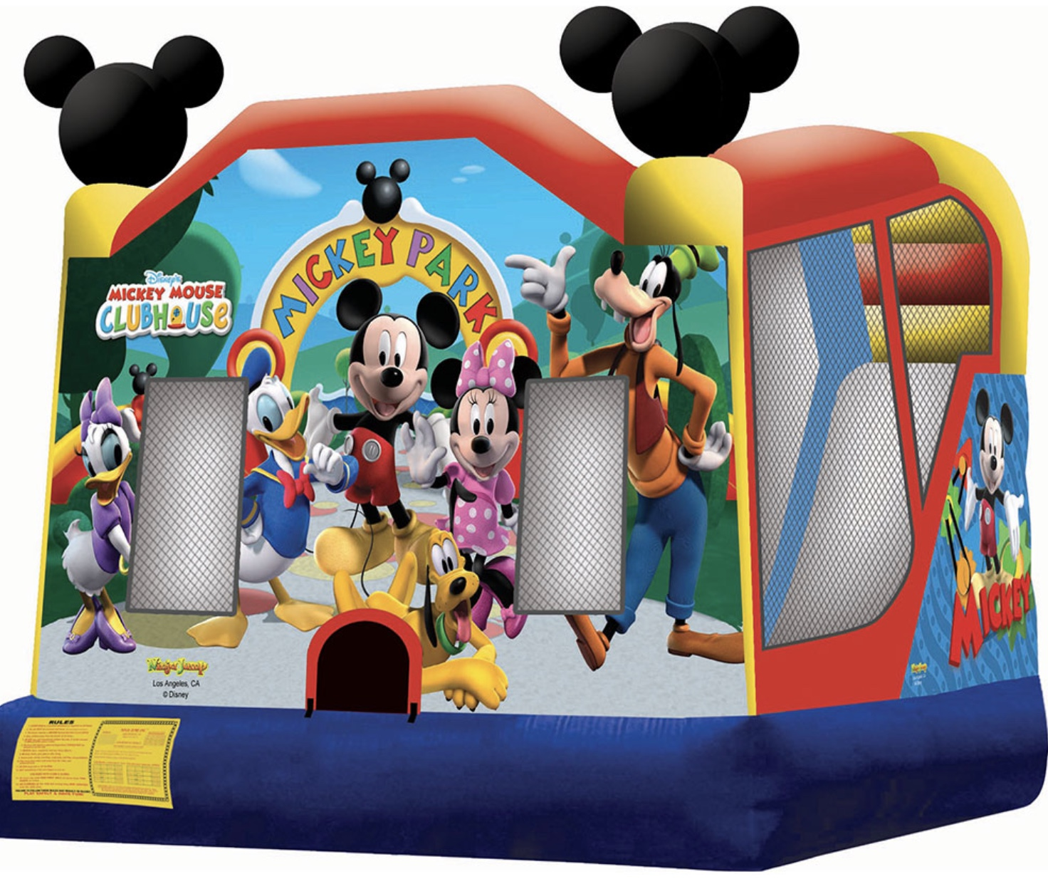 Mickey Combo Bounce House