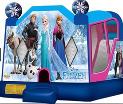 Frozen Combo Bounce House