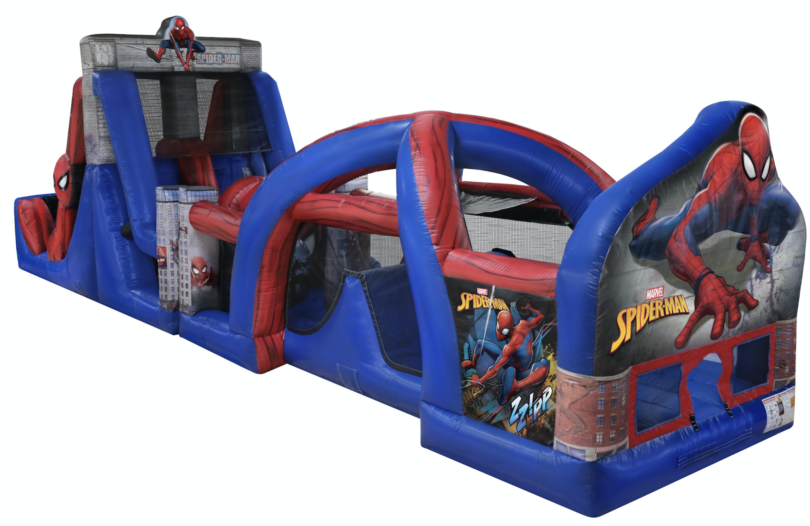 SPIDER-MAN 50' BH & OBST