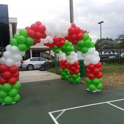 Christmas Balloon Arch